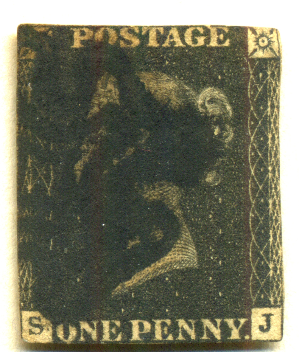 One Penny Black - from the collection of Staphan Jürgens