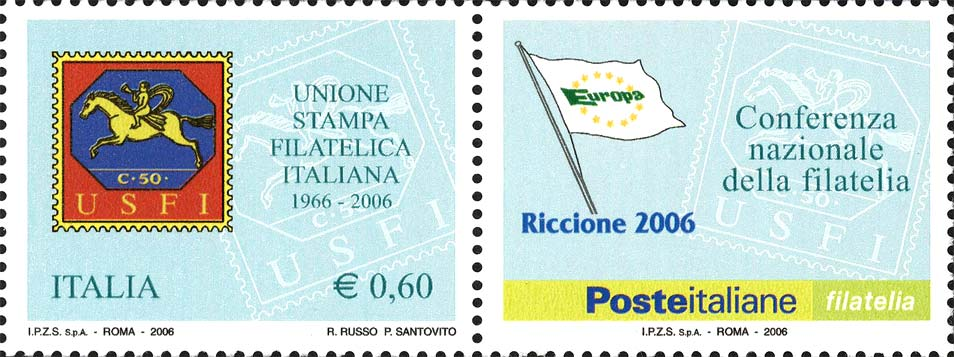 Italienische Briefmarke. Quelle ibolli.it